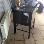 Бак с аксессуарами и маслоохладителем на 24V